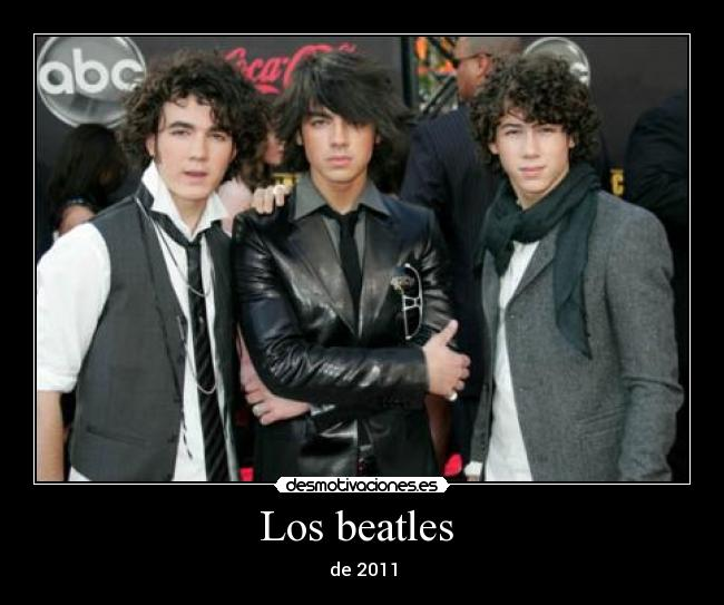 Los beatles  -