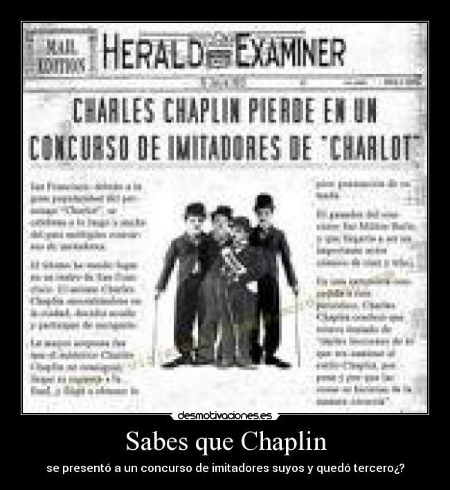 Charlie Chaplin Essay