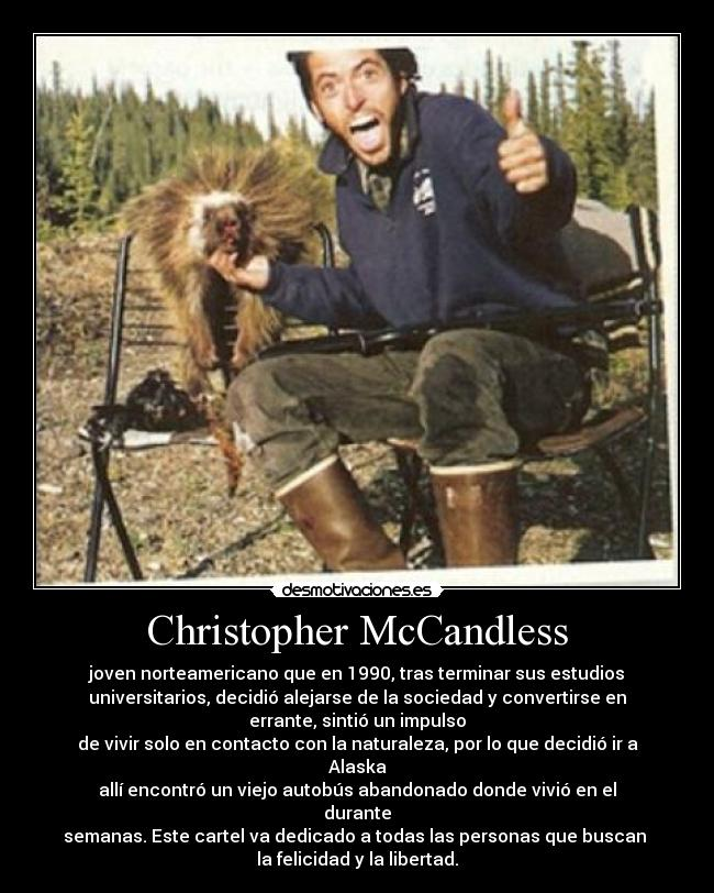 pin christopher mccandless video - photo #41