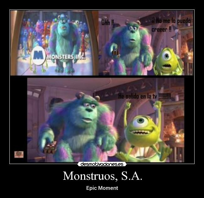 Monstruos, S.A. - Epic Moment