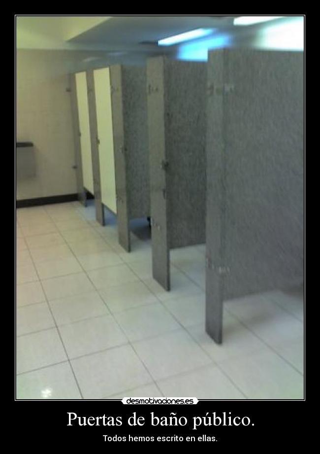 Puertas Para Los Baños:Puertas de baño público