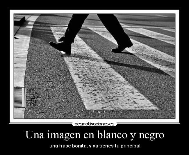 Una Imagen En Blanco Y Negro Desmotivaciones