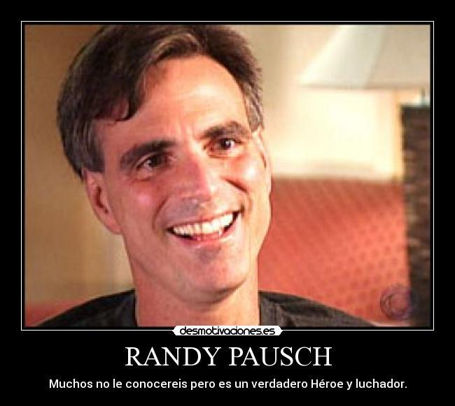 Randy Pausch Desmotivaciones