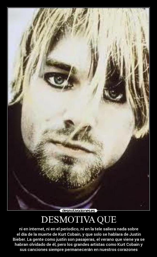 a biography and life work of kurt cobain the singer from the band nirvana Heavier than heaven is my 2001 biography of kurt cobain the book was published in september of that year and was a new york times bestseller the book has subsequently been published in 24 foreign languages.