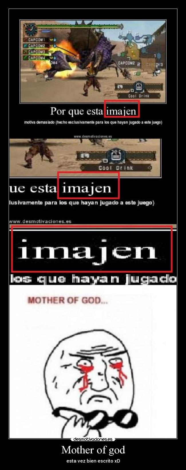 Mother of god - esta vez bien escrito xD