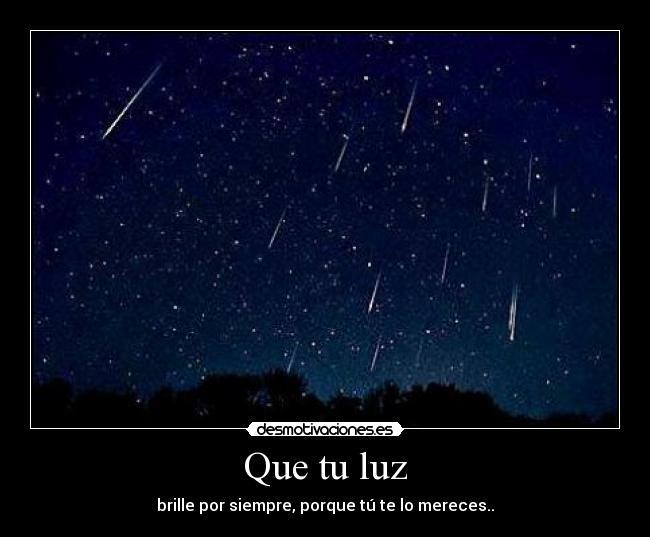 luz estrellas: