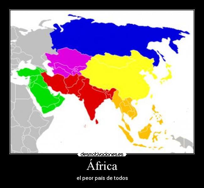 África - el peor país de todos