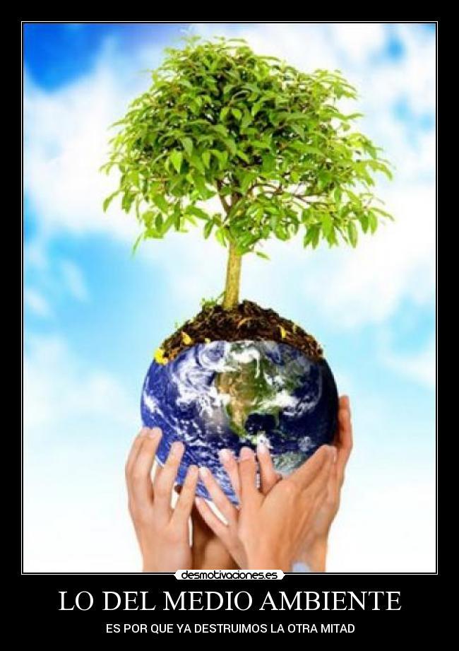 carteles medio ambiente desmotivaciones