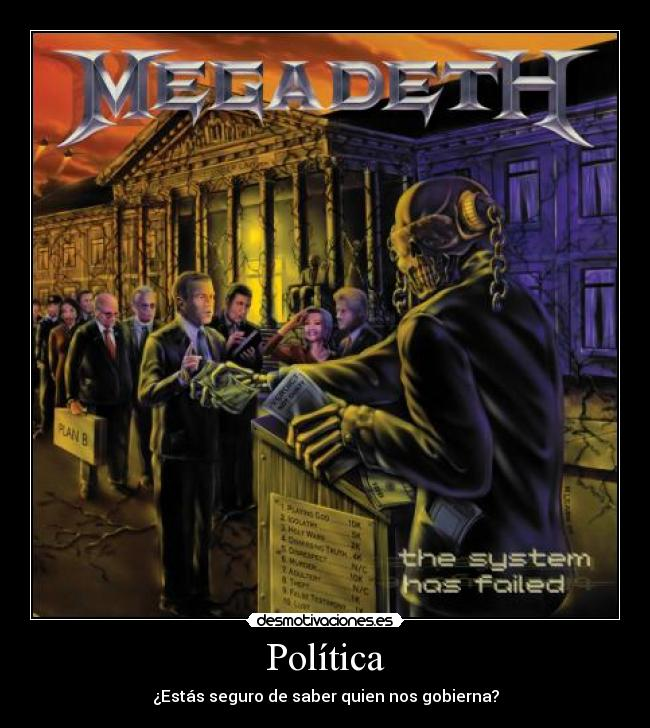 imagenes de desmotivaciones:megadeth