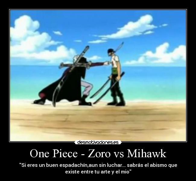 Frases One Piece Mihawkvszoro