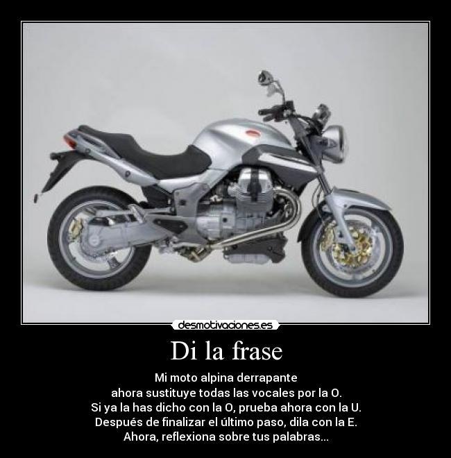 Frases De Moto Imagui
