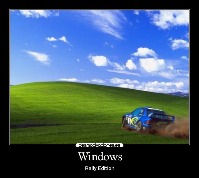 Windows - Rally Edition