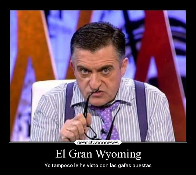 el gran wyoming es gay