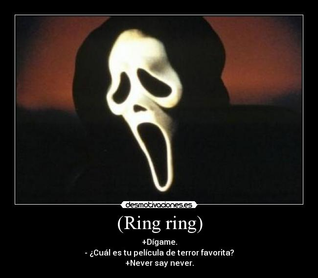 carteles ghostface scream justin bieber desmotivaciones