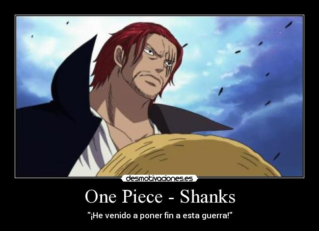 One Piece: Shanks - Gallery Colection