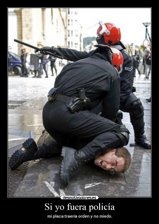 yo policía