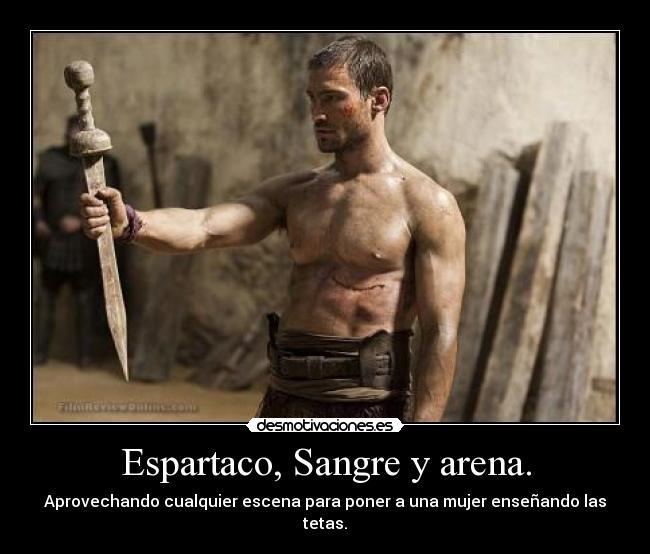 Noche de sexo entre Espartaco y Sura en Spartacus: Sangre