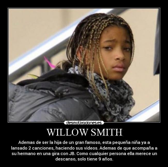 Carteles Willow Smith Desmotivaciones