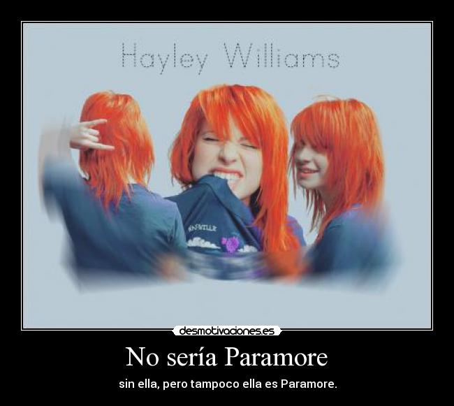 carteles paramore hayley williams unmotivated13 desmotivaciones