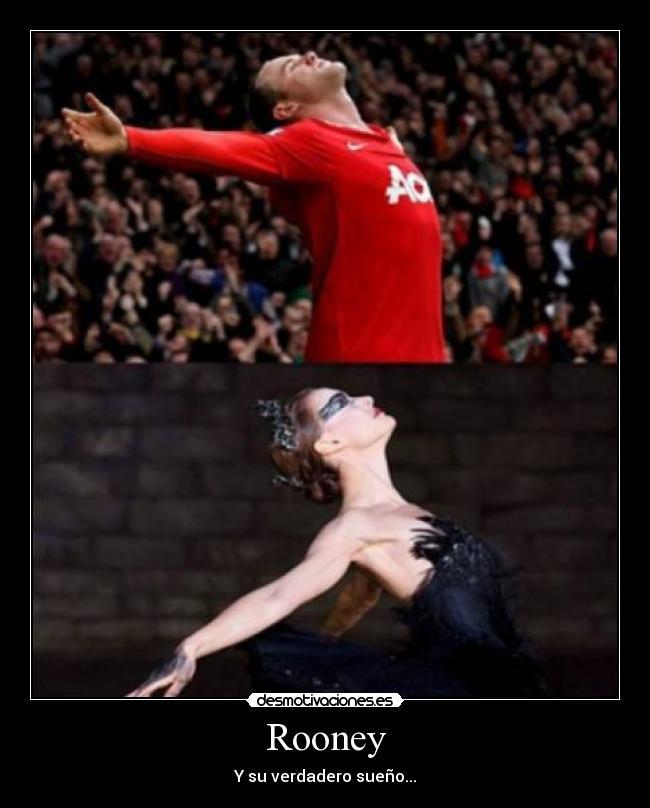 carteles futbol rooney ballet cisne negro desmotivaciones