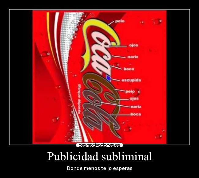 Publicidad Subliminal Taringa
