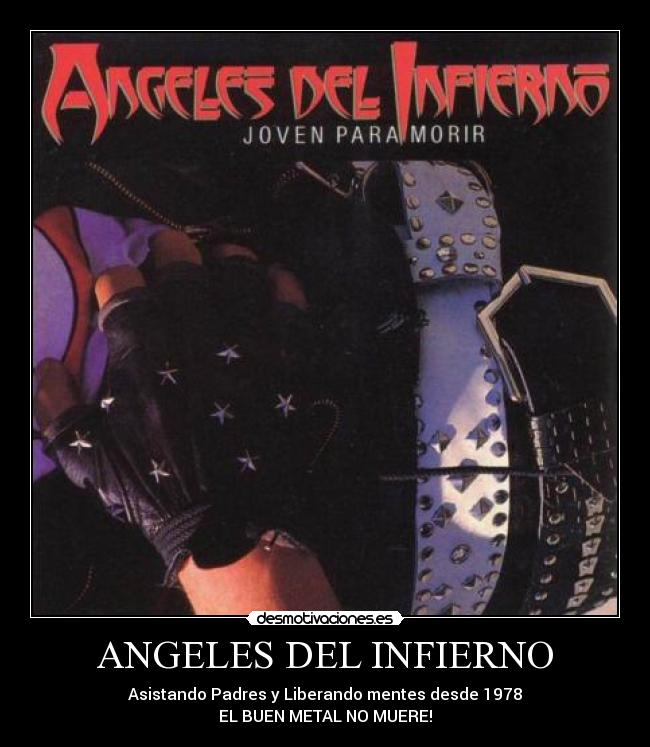angeles del infierno. ANGELES DEL INFIERNOLa cola