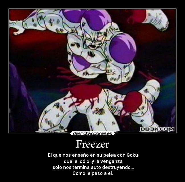carteles freezer dragon ball desmotivaciones