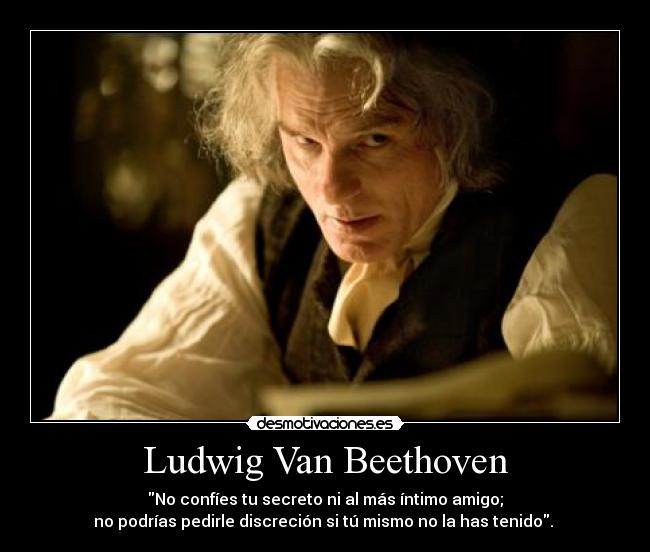 la vida de ludwig van beethoven:
