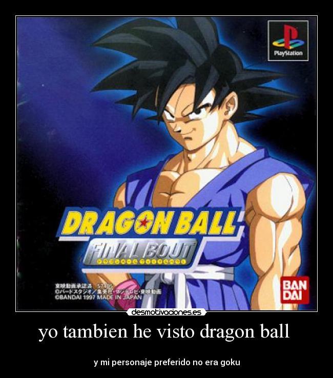 ¿Esto es Dragon Ball, la  mejor serie del mundo!
