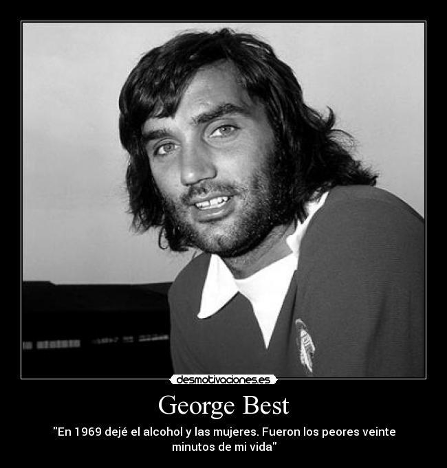 George Best hipster futbol