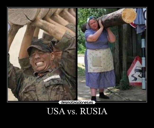 USA vs. RUSIA -