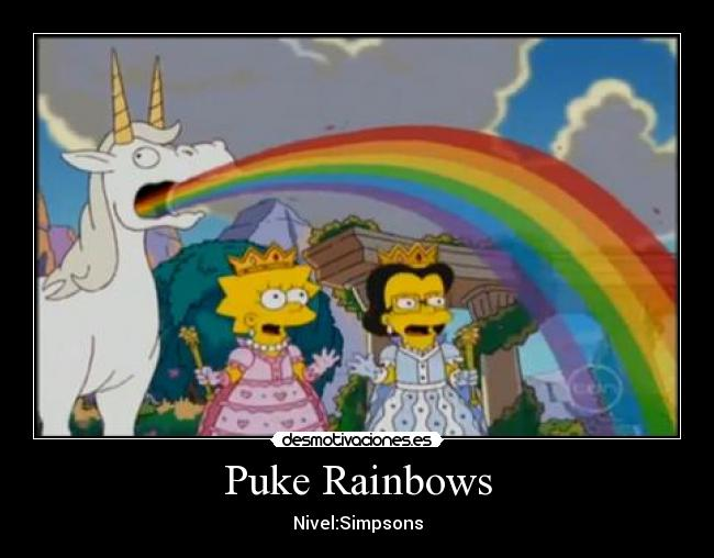 Puke Rainbows - Nivel:Simpsons