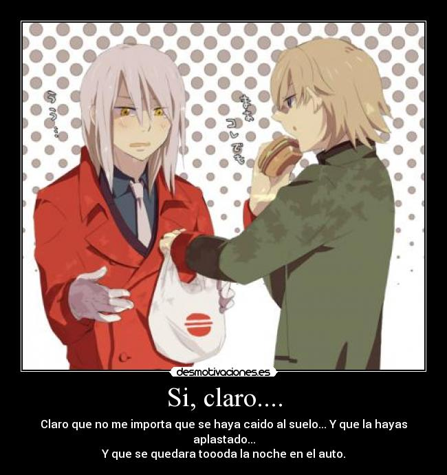 carteles august darker than black hamburguesa desmotivaciones
