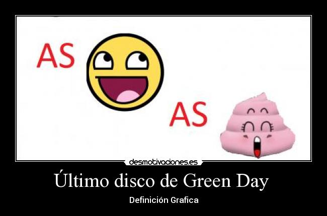 Último disco de Green Day  -