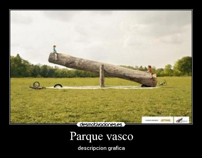 Parque vasco - descripcion grafica