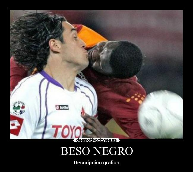 bueno negro beso negro en Gijón