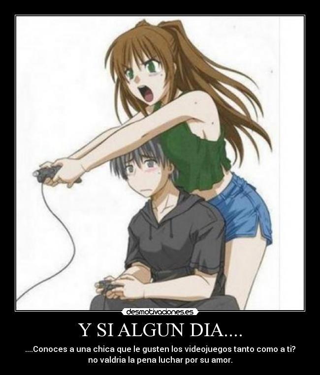 ... chicas gamers xbox playstation nintendo wii avatar desmotivaciones: desmotivaciones.es/1444698/y-si-algun-dia....