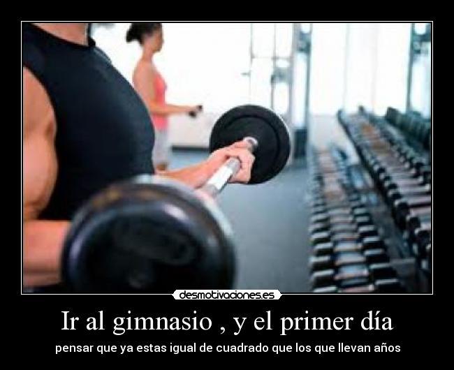 Ir al gimnasio y el primer d a memes for Gimnasio el gym