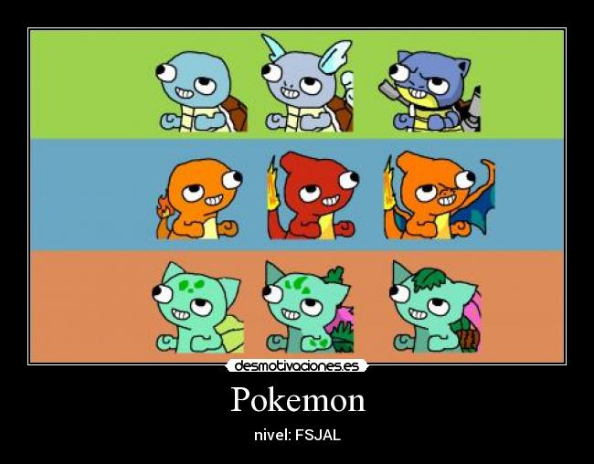 Pokemon - nivel: FSJAL