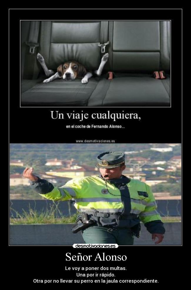 carteles alonso guardia civil desmotivaciones
