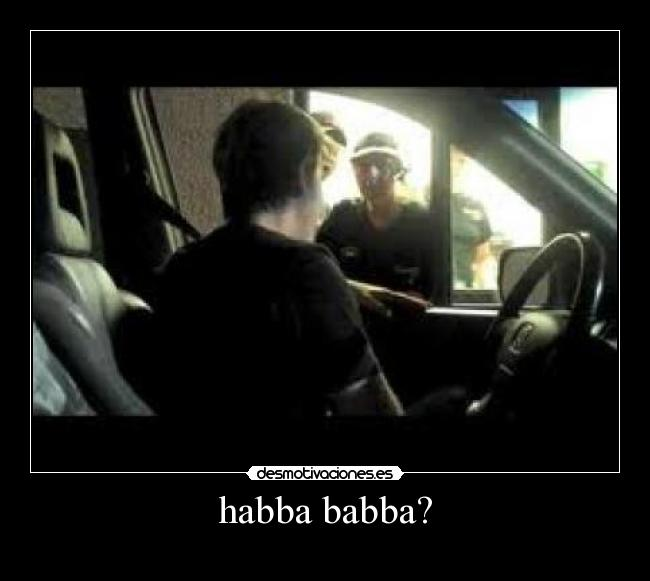 what does habba babba mean