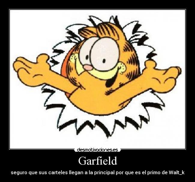 Desmotivaciones Garfield   Latino Photo