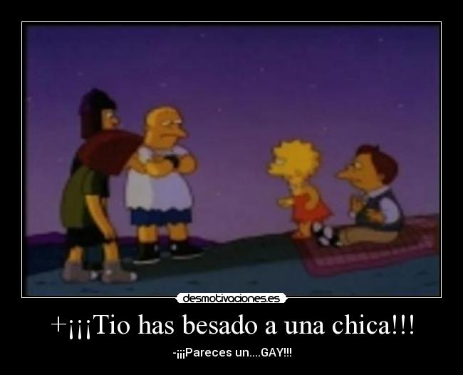 carteles lol gay the simpson desmotivaciones