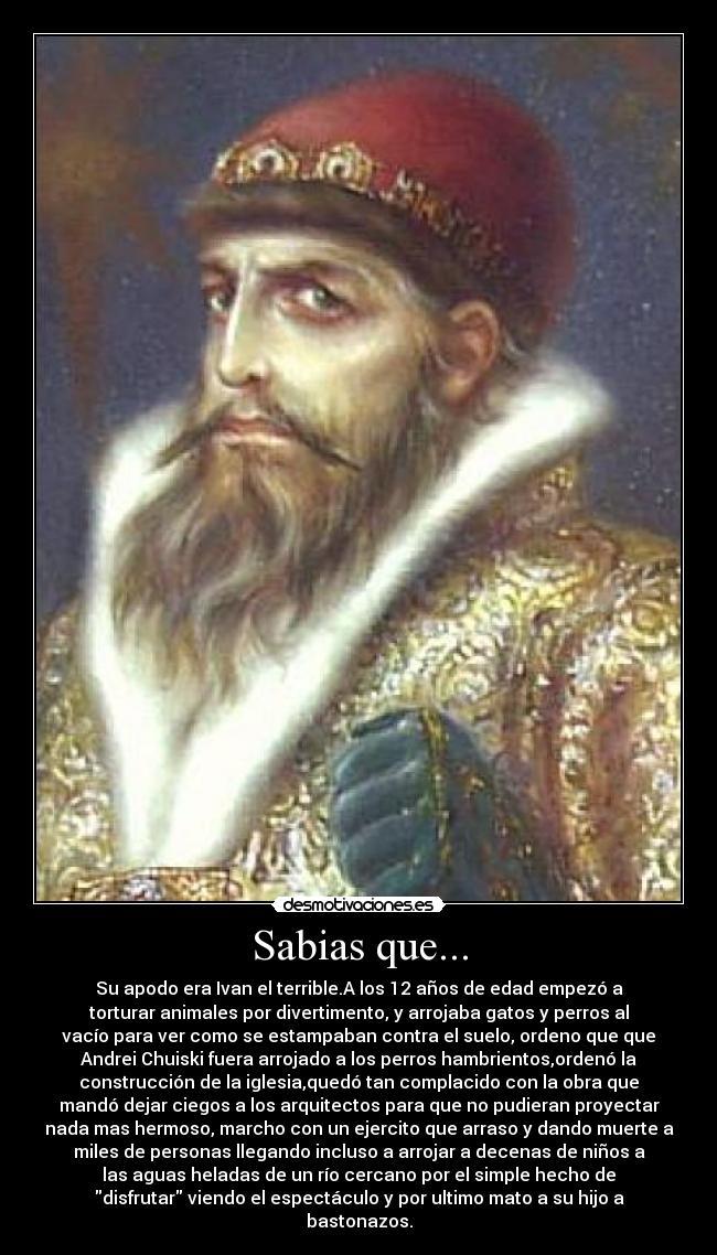 ¿Quién fue Iván IV el Terrible?
