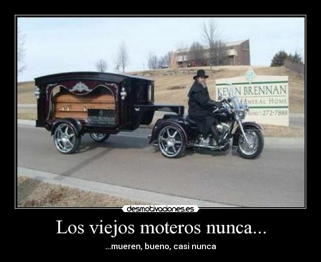 carteles motos viejos ferminelfiero desmotivaciones