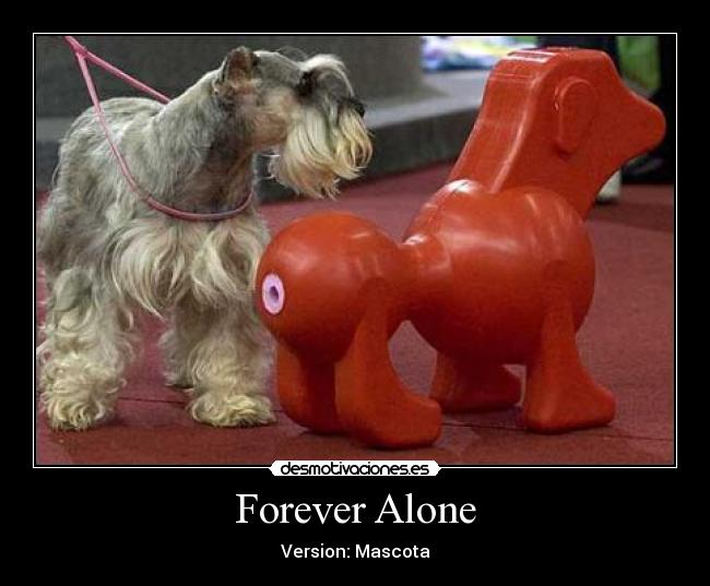Forever Alone - Version: Mascota