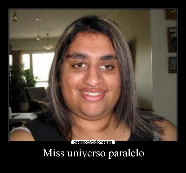 Miss universo paralelo -