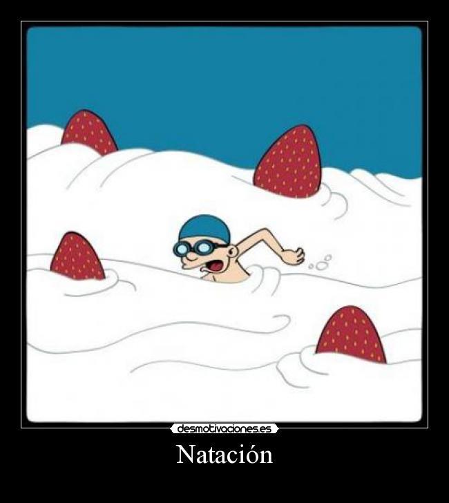 carteles natacion desmotivaciones