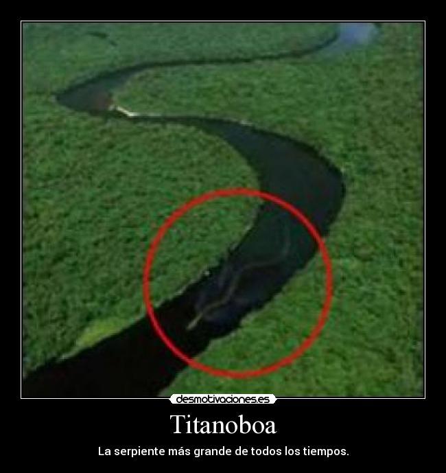 TITANOBOA - desmotivaciones.es
