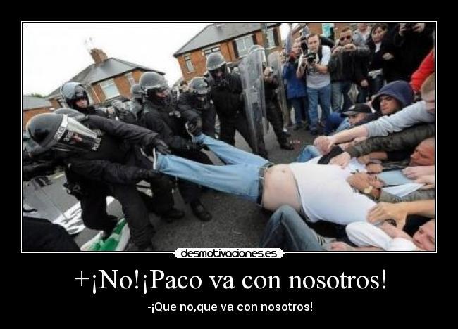 carteles policiafutbolpersonasmanifestacion desmotivaciones